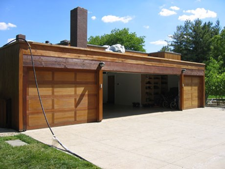 Garage Doors refinished by Old Village